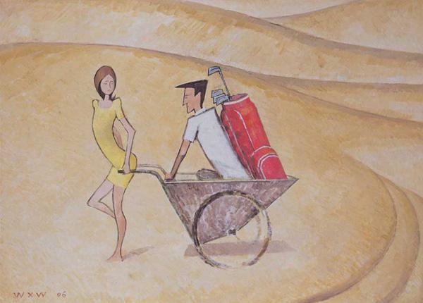 Woman-Pulling-a-Man